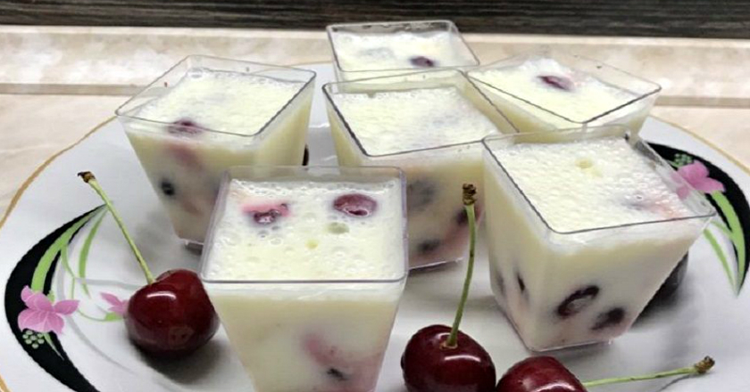 Десерт з вишнею подивитися рецепт