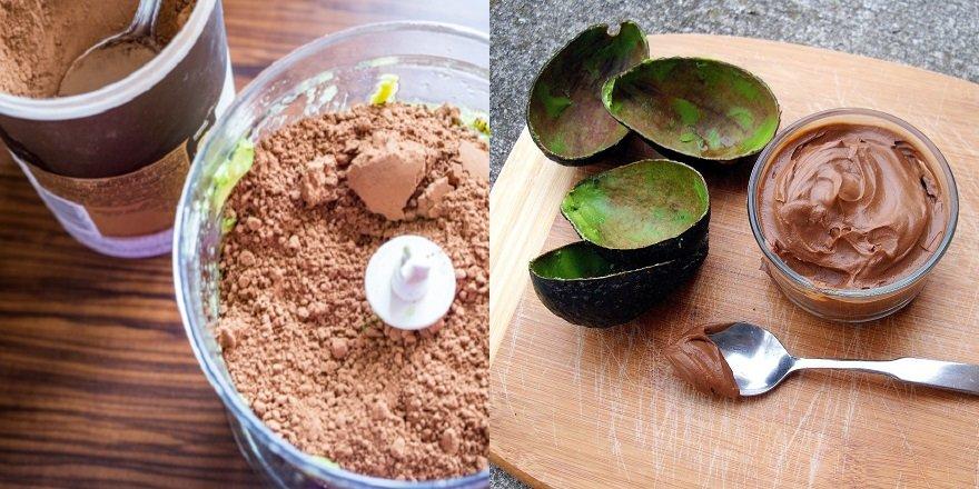Муссовий десерт з авокадо