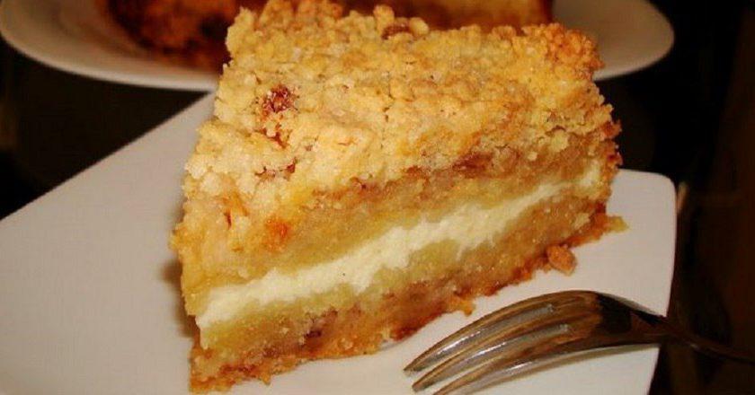 Тертий пиріг на кукурудзяній муці подивитися рецепт