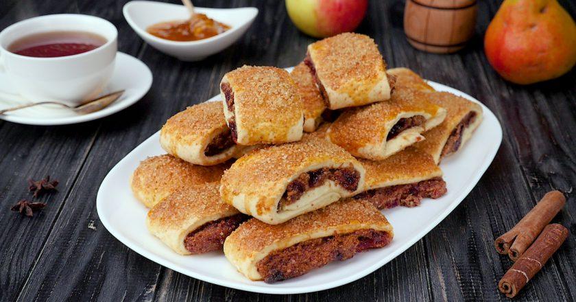 Як приготувати печиво з варенням подивитися рецепт