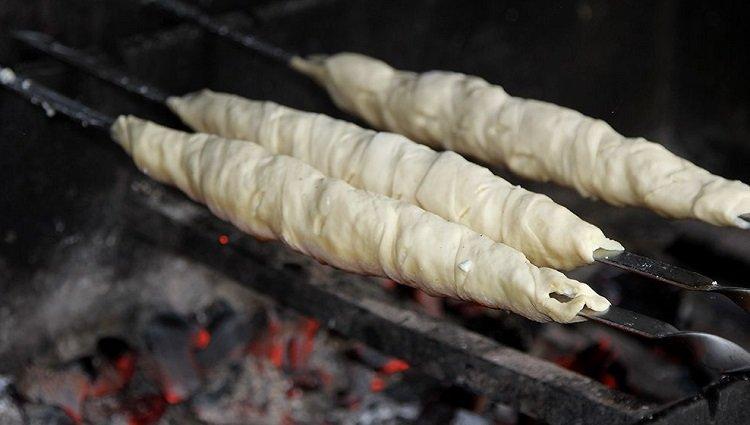 Хачапурі на мангалі