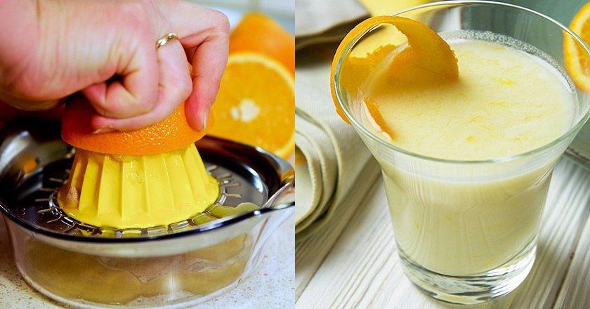Поссет з апельсиновим соком як приготувати, покрокові рецепти від «Це Смак»