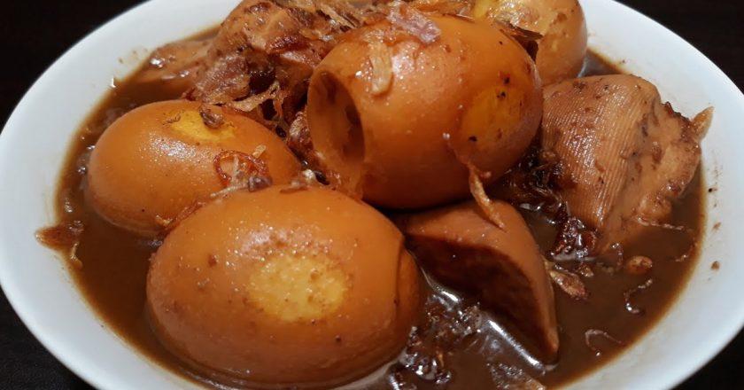 Яйця в чаї подивитися рецепт