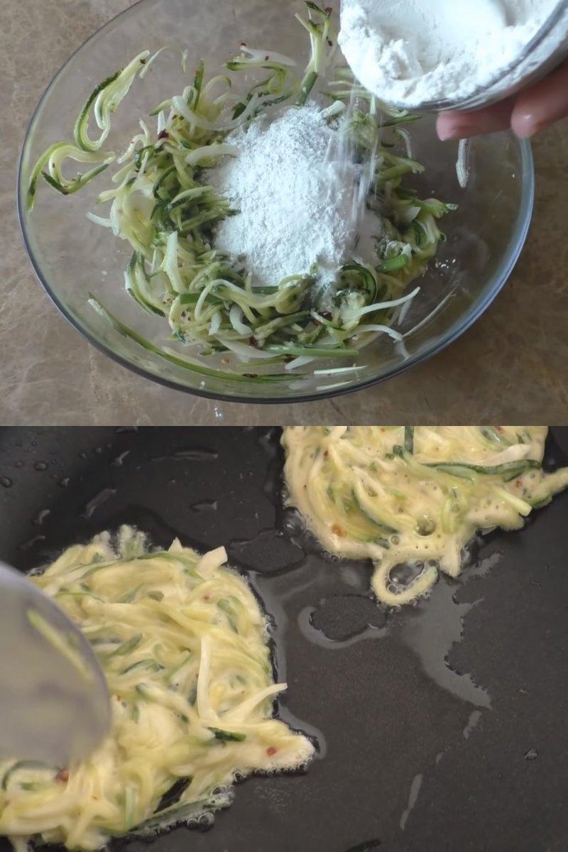Оладки з кабачків