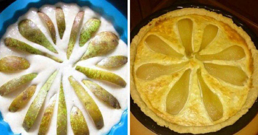 Грушевий тарт подивитися рецепт