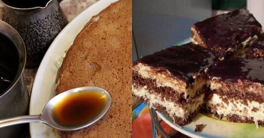 Кавовий торт подивитися рецепт