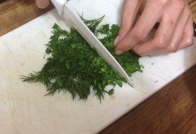 Котлети з фаршу з капустою