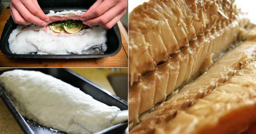 Скумбрія в солі як приготувати, покрокові рецепти від «Це Смак»