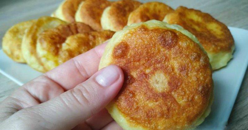 Швидкі пиріжки на кефірі