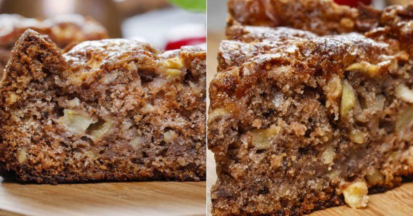 Пиріг з яблуками і корицею в духовці подивитися рецепт