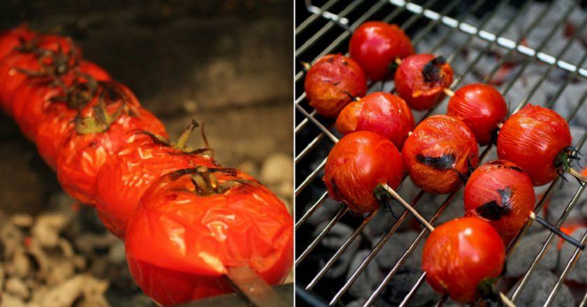 Шашлик з помідорів подивитися рецепт