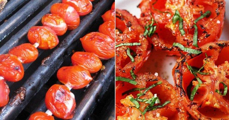 Шашлик з помідорів