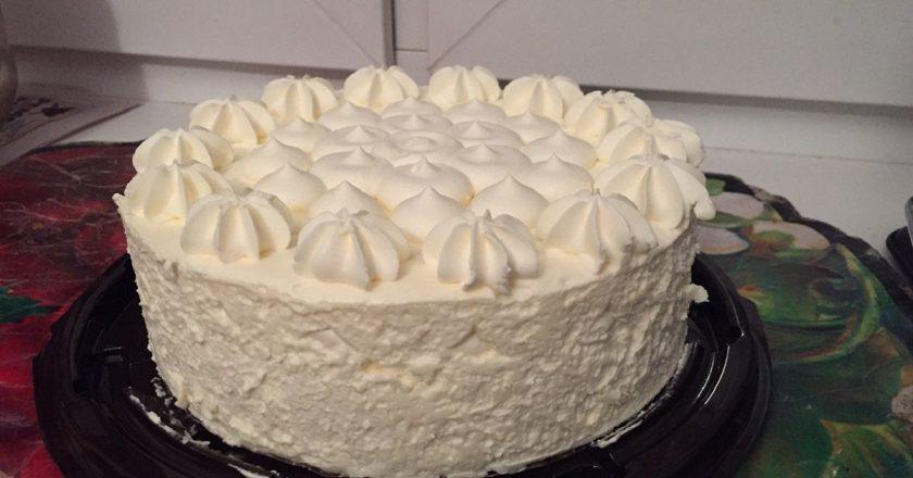 Пломбирний торт подивитися рецепт
