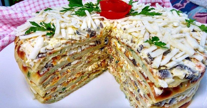 Торт з кабачків подивитися рецепт