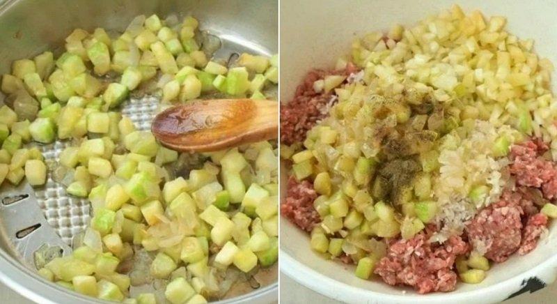 Перець, фарширований овочами