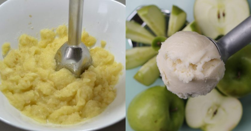 Яблучний сорбет подивитися рецепт