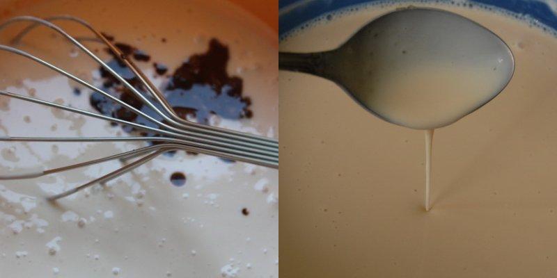 Десерт з ряжанки з желатином