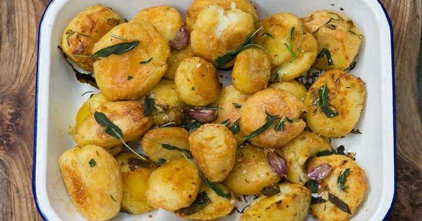 Картопля з розмарином подивитися рецепт