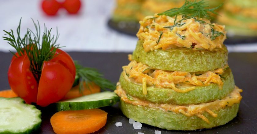 Як приготувати закуску з кабачків подивитися рецепт
