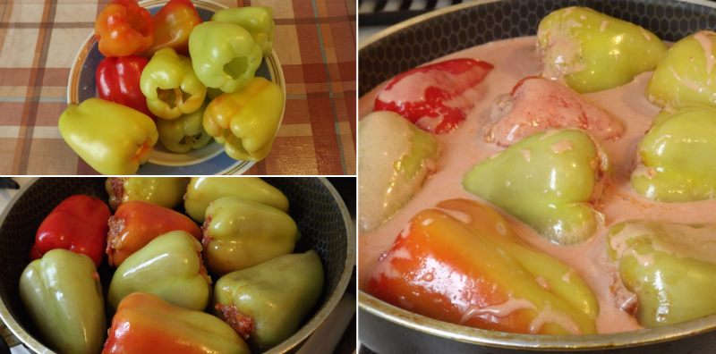 Фаршировані перці в томатному соусі