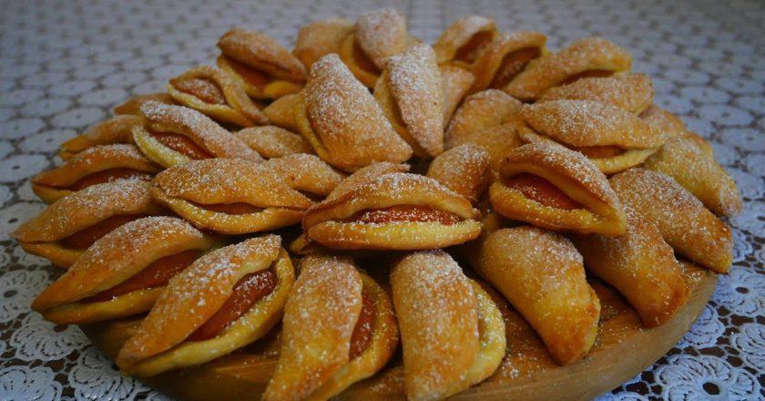 «Поцілунки» з абрикосами подивитися рецепт