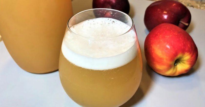 Яблучний квас подивитися рецепт