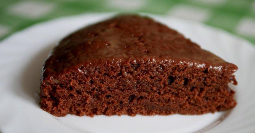 Пишний шоколадний торт