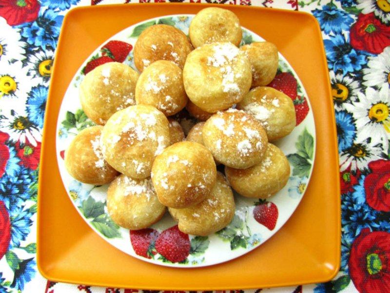 Пончики з начинкою