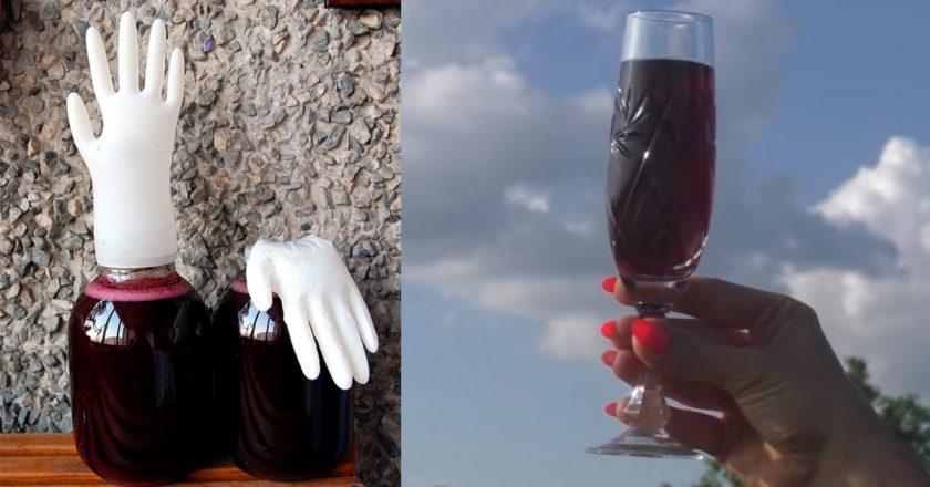 Зріле вино з смородини подивитися рецепт