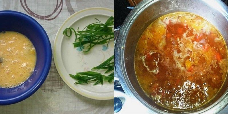 Курячий суп з помідорами