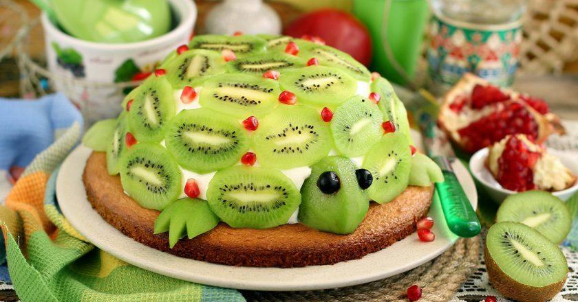 Торт «Смарагдова черепаха» подивитися рецепт
