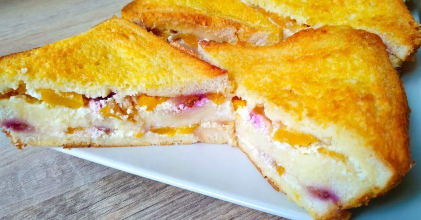 Сирний пиріг з фруктами подивитися рецепт