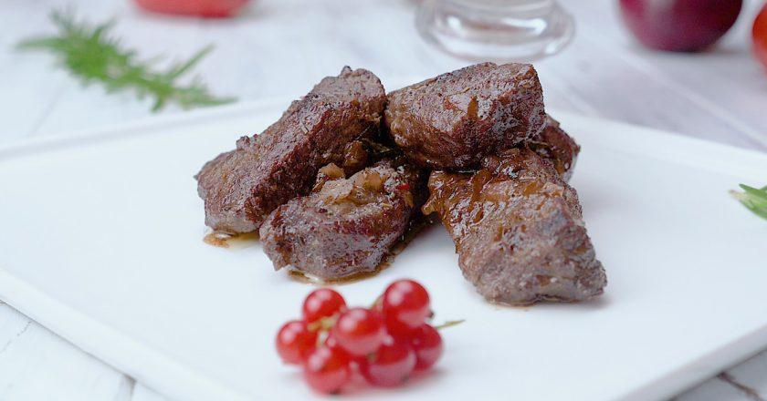 Як приготувати яловичину зі смородиною подивитися рецепт