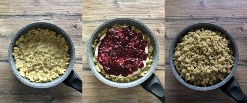 Пісочний пиріг на сковороді