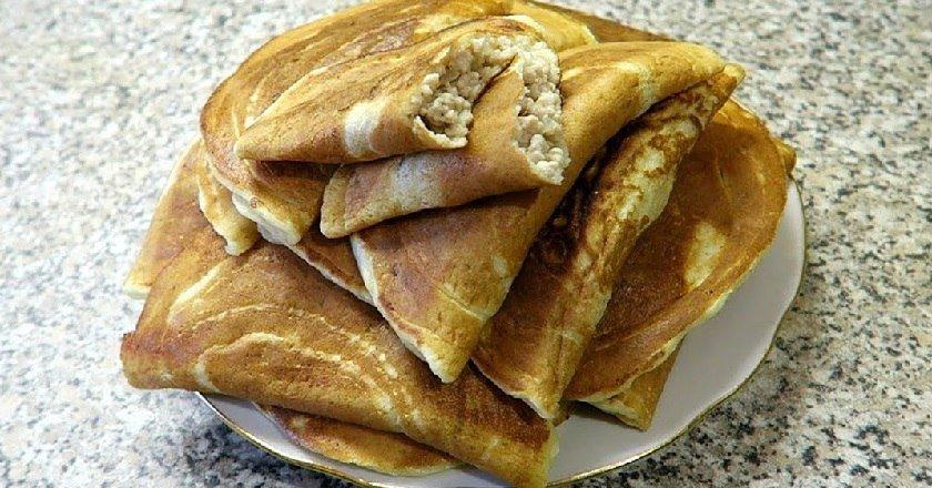 Млинці-пиріжки подивитися рецепт