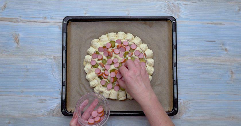 Піца «Хот-дог» подивитися рецепт