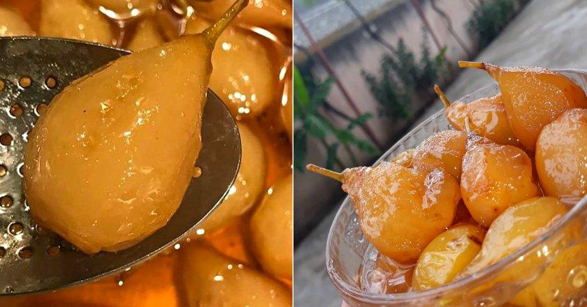 Варення з груш з горіхами подивитися рецепт