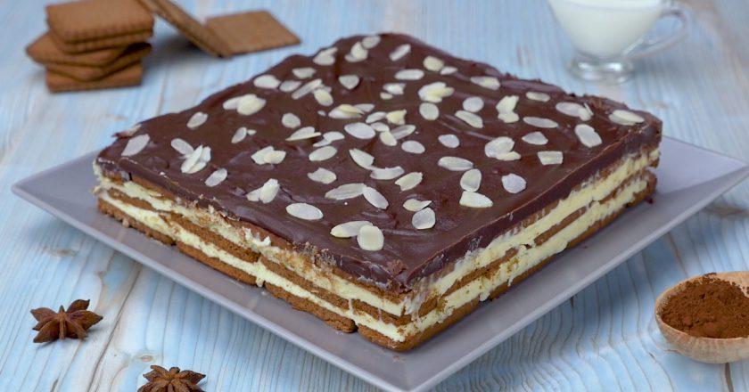Торт Milky Way подивитися рецепт