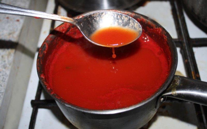 Томати в томатному соці