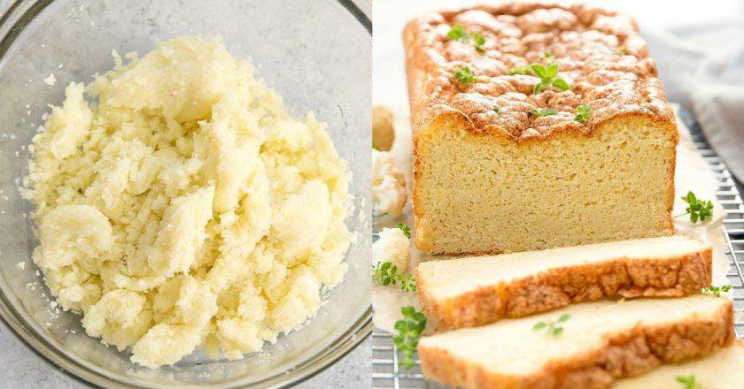 Хліб з цвітної капусти подивитися рецепт