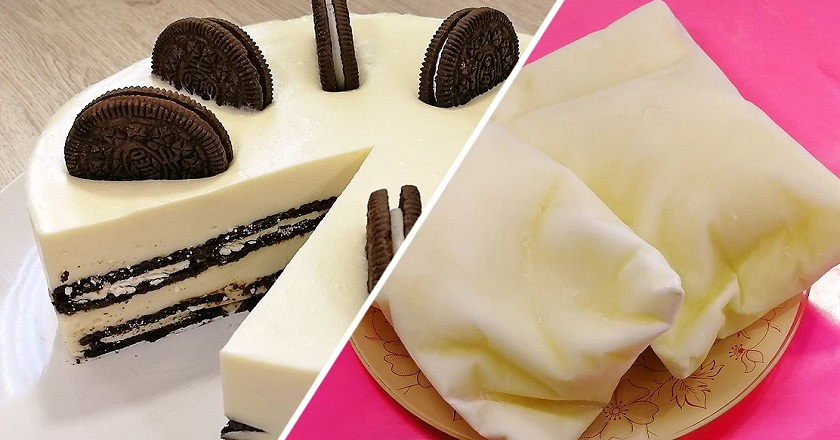 Торт на кефірі подивитися рецепт