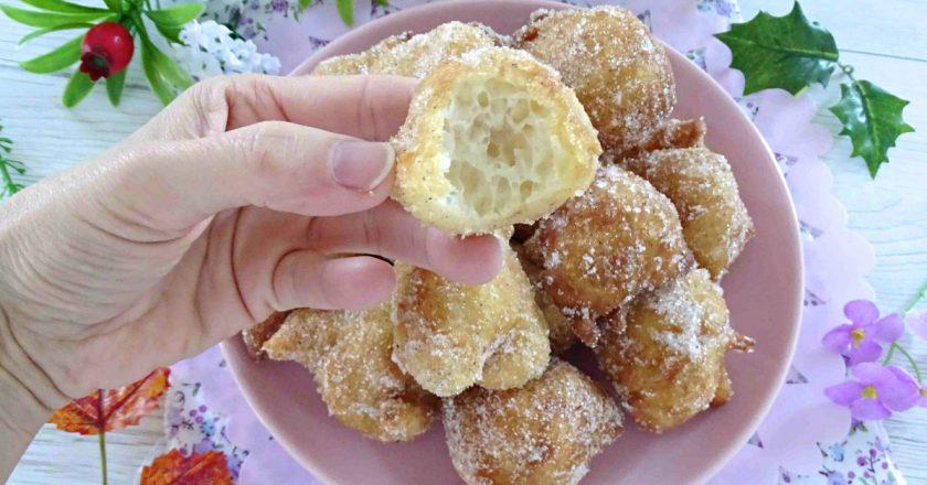 Пончики на дріжджах подивитися рецепт