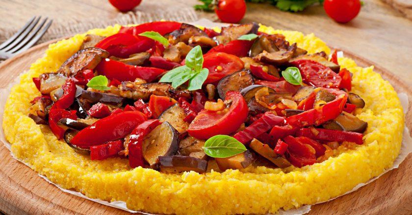 Пиріг з поленти як приготувати, покрокові рецепти від «Це Смак»