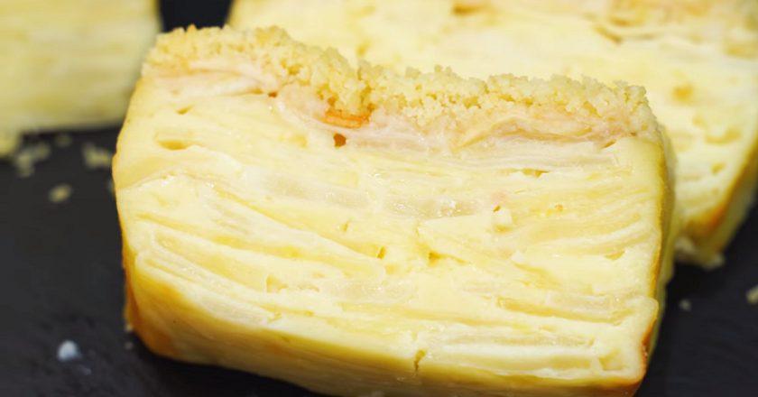 Рецепт пирога «Невидимка» подивитися рецепт