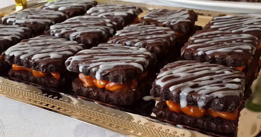 Печиво «Снікерс» подивитися рецепт