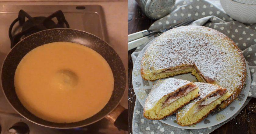 Великий пиріг-панкейк подивитися рецепт