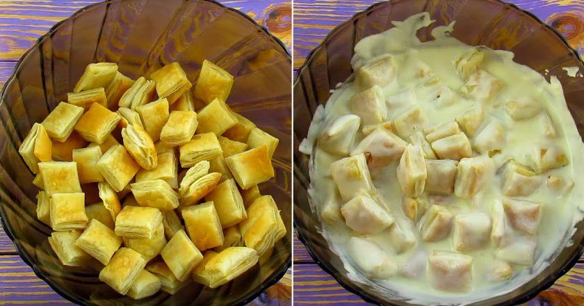 Вершковий десерт подивитися рецепт