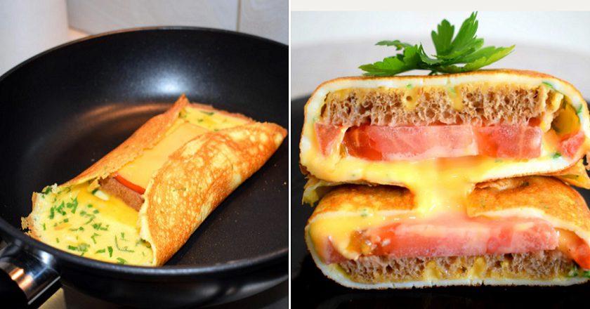 Бутерброди на сніданок подивитися рецепт