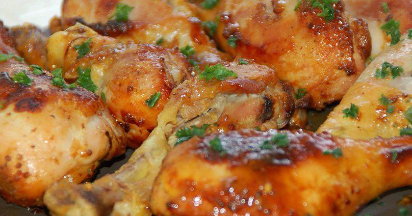 Курячі гомілки в кисло-солодкому соусі подивитися рецепт