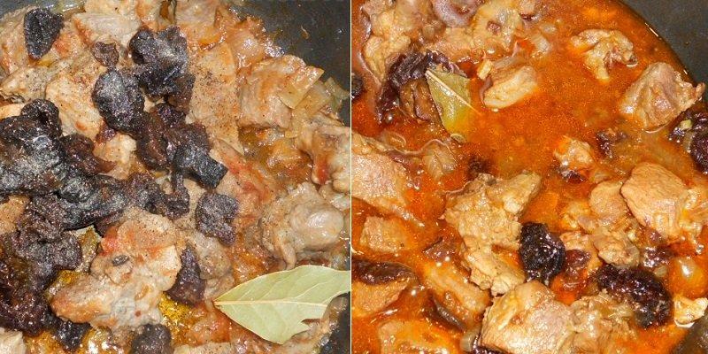 М'ясо з чорносливом в мультиварці